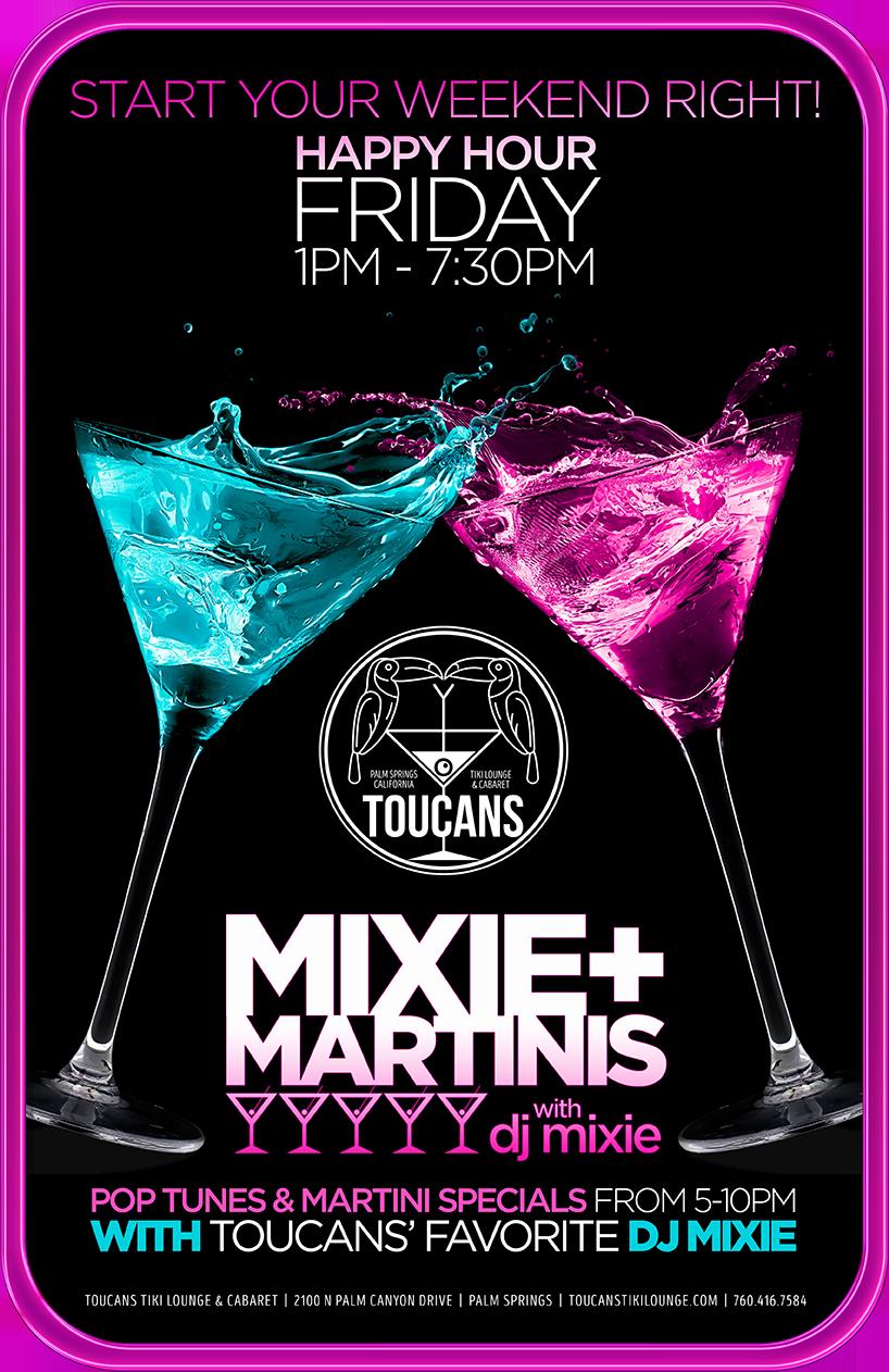 Mixie Martinis