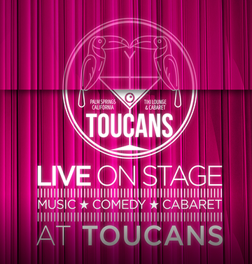 Toucans Live On Stage Square